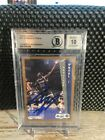 SHAQUILLE O'NEAL 1992-93 Fleer Rookie #401 AUTO BGS BAS 10 AUTOGRAPH 60339