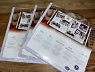 Creative Memories 12 x 12 white refill pages Nip 3 Package Lot