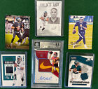 2018 IMMACULATE SAM DARNOLD PATCH NIKE SWOOSH AUTO 5 5 RC + HURTS JERSEY LOT