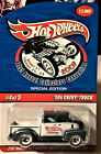 HOT WHEELS 50S CHEVY TRUCK 21st ANNUAL COLLECTORS CONVENTION ONLY 3000 MADE