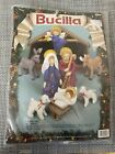 Bucilla Nativity Set Felt With Sequins Embroidery Kit 1991 82958 New In Package
