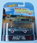 Hot Wheels Back To The Future III 1955 DeLorean Car By Mattel in 2017
