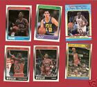 1988-89 FLEER BASKETBALL SET WITH STICKERS