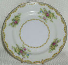 Mepoco China Salad Plate Yellow Pink Blue Flowers