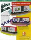 1996 LIONEL TRAINS HOLIDAY BOXCAR FLYER MINT