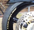 Suzuki GSX750F Wheel rim stickers decals gsx 750 f