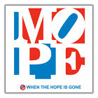 Anti Obama Nobama MOPE not hope STICKERS FREE SHIP
