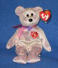 TY 2001 SIGNATURE BEAR BEANIE BABY - MINT with MINT TAG