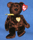 TY 2003 SIGNATURE BEAR BEANIE BABY - MINT with MINT TAG