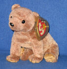 TY PECAN the GOLD BEAR BEANIE BABY - MINT with MINT TAGS