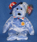TY FOUNDERS the BEAR BEANIE BABY - MINT with MINT TAG - BBOM