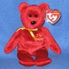 TY OMNIBUS the BEAR BEANIE BABY - I LOVE HARRODS EXCLUSIVE - MINT with MINT TAGS