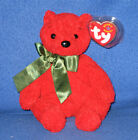 TY MISTLETOE the BEAR BEANIE BABY - MINT with MINT TAG