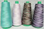 100 Merc Cotton Thread Quilting Thread Serging Thread COLORS 3M