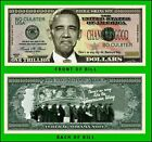 5 Factory Fresh Barack Obama NoBama 2012 Trillion Dollar Bills