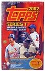 2002 TOPPS BASEBALL JUMBO HOBBY BOX SERIES 1