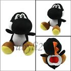 super mario bros black yoshi 7 soft plush toy doll figure cute