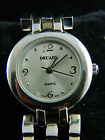 DECADE   LADIES WATCH/SILVER TONE BAND ACE/CASE/FACE