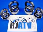 Yamaha Raptor 350 YFM350 2004-2013 Both Front Wheel Bearings & Seals Kit