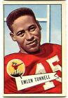 1952 Bowman Large #39 Emlen Tunnell Giants VG Ex Condition