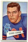 1952 Bowman Large #19 George Connor SP Bears VG Condition Notre Dame