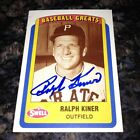 Ralph Kiner Baseball Cards and Autographed Memorabilia Guide 17