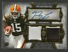 2011 GREG LITTLE Topps Supreme Auto Jersey #'d 3 5 Prime Patch Rookie Card T34