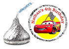 108 DISNEY CARS BIRTHDAY PARTY FAVORS HERSHEY KISS LABELS