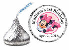 108 MINNIE MOUSE BIRTHDAY PARTY FAVORS HERSHEY KISS LABELS