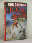 1st signed by 2 Black as Blood by Robert Rob Chilson 1998