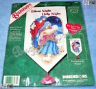 Dimensions SILENT NIGHT BANNER Counted Cross Stitch Christmas Kit Nativity 8x14