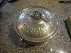 Vintage Hand Forged Everlast Aluminum Cooking Pot Handles & Lid -Free US Shippin