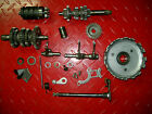 YAMAHA DT50 DT 50 TRANSMISSION & SHIFT DRUM & SHAFT & FORKS & CLUTCH BASKET