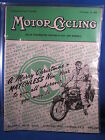 Motor Cycling Scooter Weekly December 23 1954 Vol XCI No 2343