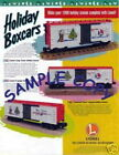1996 LIONEL TRAINS HOLIDAY BOXCAR FLYER USED CONDITION
