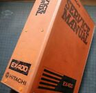 HITACHI EX400 Excavator Service Manual Book repair engine overhaul factory OEM