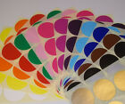 13mm 15mm Round Colour Code Dots Blank Price Stickers Sticky Labels