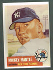 MICKEY MANTLE 1953 TOPPS 5x7 REPRODUCTION THICK CARDBOARD SUITABLE FOR FRAMING