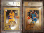 2012-13 Panini Elite Kobe Bryant Kevin Durant Passing The Torch Auto BGS 9 22 49