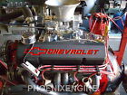 CHEVY 350B 383 426HP 4 BOLT CRATE ENGINE HIGH PERFORMANCE TURN KEY WORLD HEADS 7
