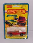 1976 MATCHBOX LESNEY # 6 MERCEDES 350 SL  MADE IN ENGLAND MOC