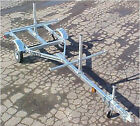 2 Canoe 4 kayak Galvanized Trailer NEW watersports