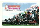 Dunkin Donuts Celebrate Saratoga Horse Race Track Gift Card NoValue Collectible