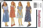 4360 Uncut Vintage Butterick Sewing Pattern Girls Dress Girls Jumper 7 - 14 Easy