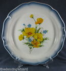 Mikasa Country Club CA503 Amy Large Round Serving Platter Chop Plate EUC