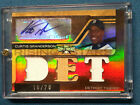 2008 Topps Triple Threads Curtis Granderson auto New York Yankees Detroit Tigers