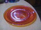 Jeannette Glass Anniversary Iridescent Round Serving Tray 12 3/4