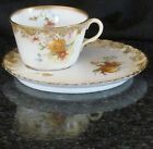 ROYAL DOULTON ANTIQUE TENNIS TEA CUP & SAUCER=1897=BURSLEM=ENGLAND=116 YEARS OLD