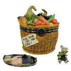 BOYDS BEAR TREASURE BOX  TILLIES VEGGIE BASKET #392132 RETIRED NWT!!1E!!