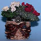 BOYDS BEAR TREASURE BOX  BLOOMIN BASKET W/ BRIE  #392121  RETIRED NWT!!2E!!